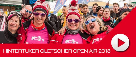 Hintertuxer Gletscher Open Air 2018